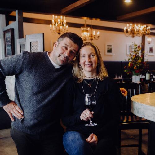 Dario's Brasserie owners Dario Schicke and Amy Schicke