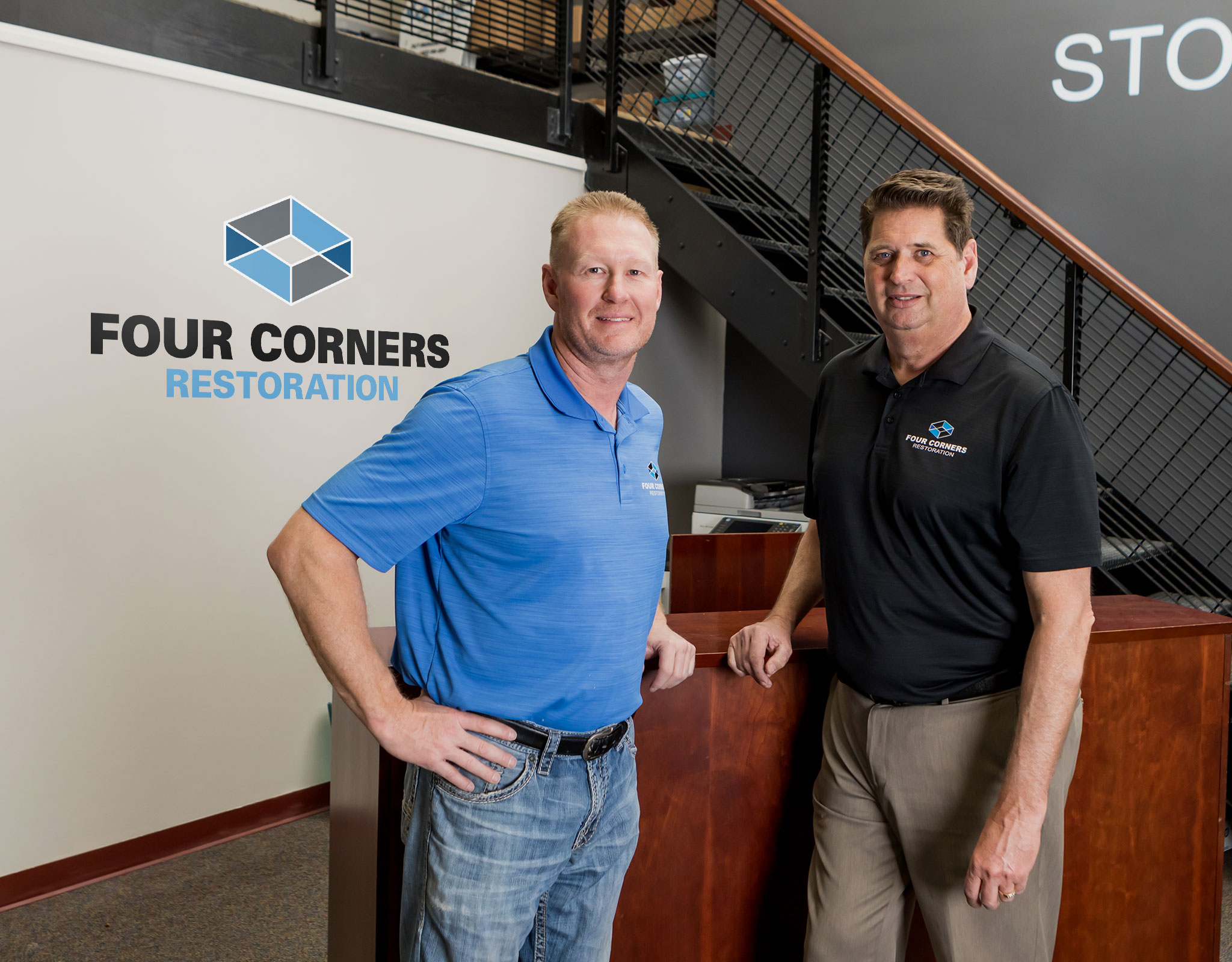 The owners of Four Corners Restoration