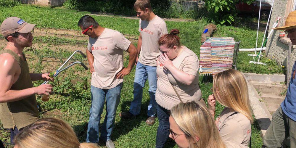 Employees at Big Muddy Urban Farm